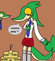 Master Academy Snivy by toamac