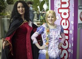 Mother Gothel and Rapunzel by Catchmewithyourlips