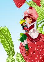 Strawberry Shortcake by Bluevelvet07