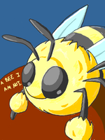 Not a Bee by PineappleSodaCat