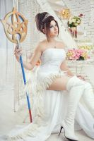 Wedding Yuna - Dissidia by GarnetTilAlexandros