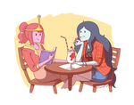 Bubbline: Glad we are not fighting anymore by foxinsoxx