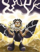 When Storm gets angry... by Narya91