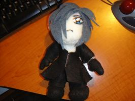 Zexion Plushie by TerinAngel
