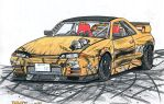 Nissan Skyline GTS-t Type M drift missile by jmig3