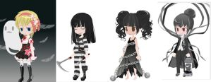 CLOSED! Free Selfy Adoptables - Theme: Ghosts by Mirror-Adopts