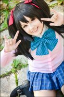 Love Live! Nico Yazawa Summer Uniform by SharyNyanko