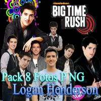 Pack PNG Logan Henderson by BelieberSelenatica