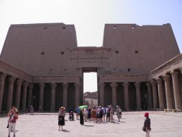Edfu Temple 21 by thetamar