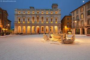 Moonlight over Piazza Vecchia by SimonePomata