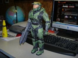 Papercraft Master Chief 3 by Esteban1988