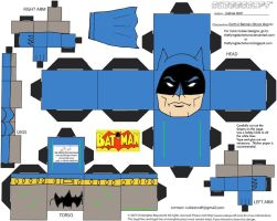 DC SH15: Earth-2 Batman Cubee by TheFlyingDachshund