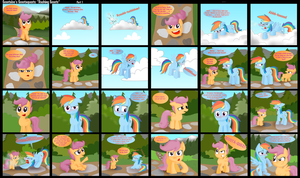 MLP:FiM - Scootaloo's Scootaquest Part 1 by AJMSTUDIOS