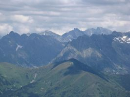 Mountains-  2000 high by MorgaineAnne