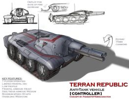 Terran Republic Controller AT vehicle by hansime