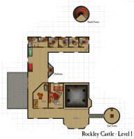 Rockley Castle - First Floor by DarthAsparagus