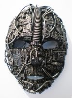 techno iron mask by richardsymonsart