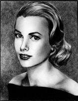 Grace Kelly by Alene