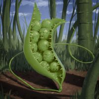 POSSESSED PEAS by dante-cg
