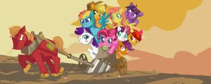 MLP: Ploughing Them Fields. by Dunnstar