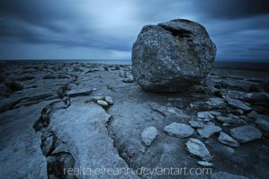 a rock to lean on by realta-eireann