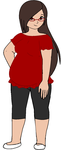 This is a anime version of me in rl by Ponyness1