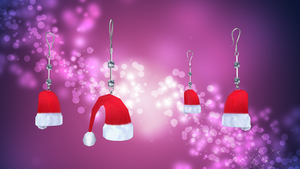 Christmas Earrings by ninjapirate10194