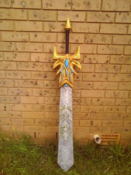 Demacian Justice - Garen's Sword by lady-yuna7