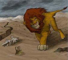 Simba's Return by Rogue-Lgr