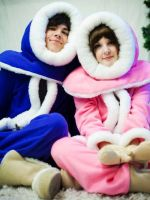 Ice Climbers: Family portrait by ImmortalCosplay