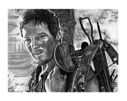 Daryl Dixon by Wanted75