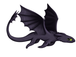 Toothless by CloudBrownie