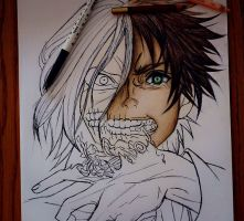 Eren in progress [2] by DoreiShounen