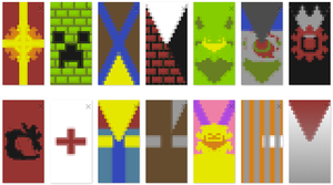 Minecraft Banners by Jacob-Cross