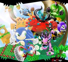 Sonic Lost World - Walk in the Park-our by BroDogz