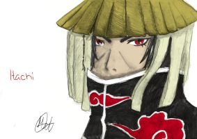 Itachi (Colored) by nuriamoon