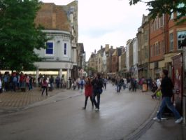 Oxford City July 2011. by satansgirl89