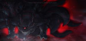 Juubi Awakes: Dark Beast by Red-Sinistra