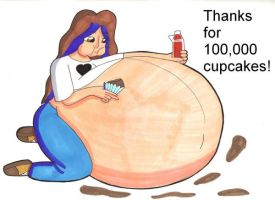100,000 Cupcakes by Oogies-wife67