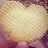 Heart-shaped Potato by MishUMuch