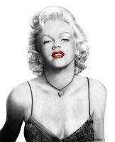 Marilyn Monroe by raulrk