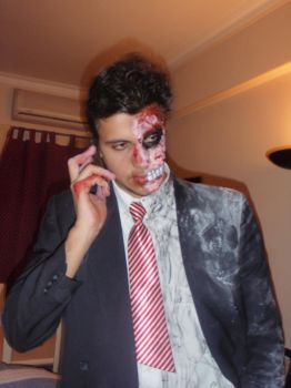 Half a bussiness man - two-face by Baldimiro