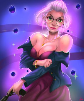 Bellwether (Zootopia) by AmeDvleec