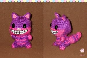 Amigurumi - Cheshire Cat by PurringCakes