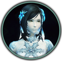 Icy button by duranin