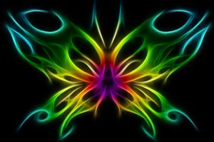 tribal butterfly design by techbehr-Fractal by dr-blackross