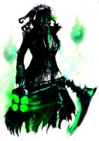 Female Thresh by iExelci