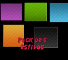 Pack De 5 Stilos by JustSsmiile
