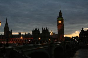 London at night by elizabethtown60B