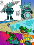Commission: Serpenna and the Skylanders pg 4 by oogaboogaz